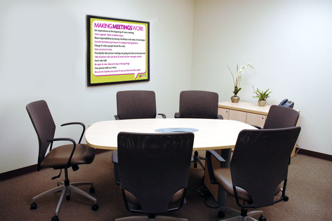 Follow Our Meeting Guidelines Stop Wasting Time In Meetings