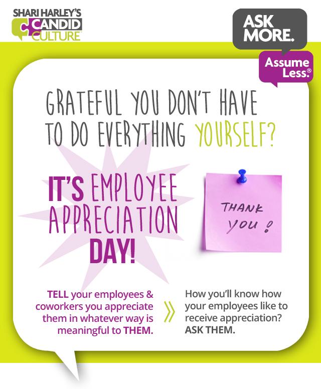 Employee Appreciation Ideas for Employee Appreciation Day