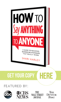How to Say Anything to Anyone by Shari Harley