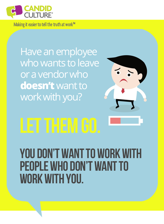 letting an employee go