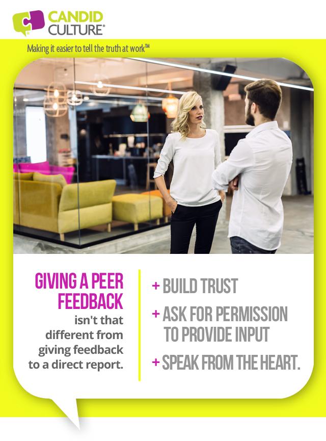 peer feedback