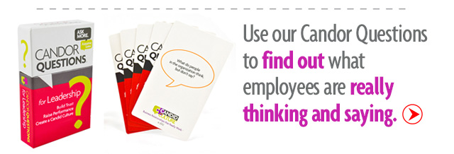 employee surveys leader cards