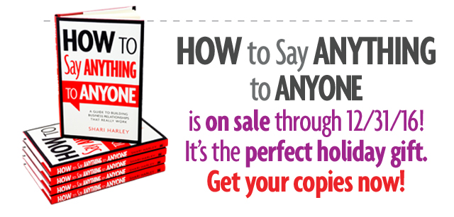 Read How to Say Anything to Anyone