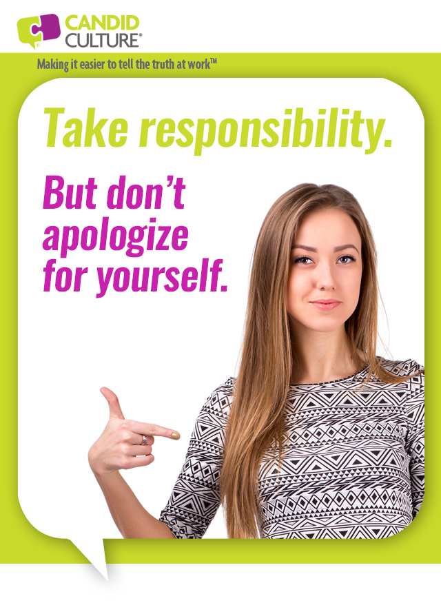 take resposibility